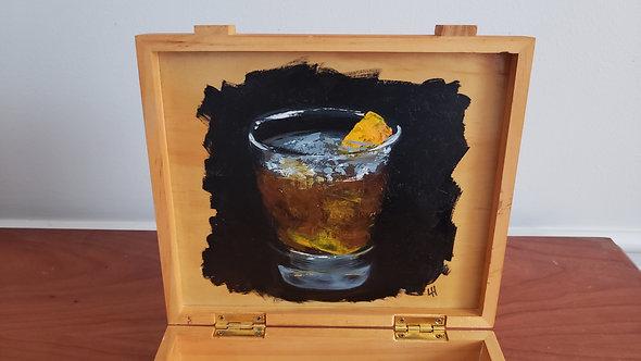 Martini / Old Fashioned Cigar Box