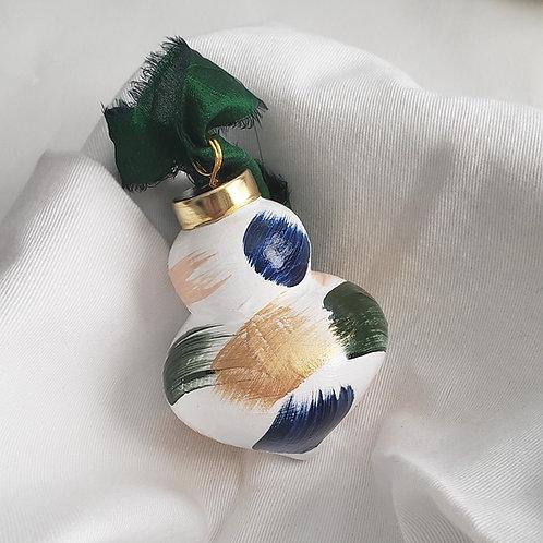 Retro Ceramic Swoops Ornament