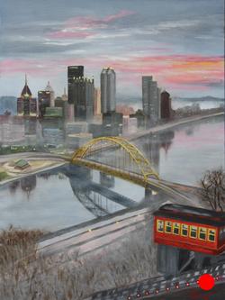 Sunrise in Pittsburgh