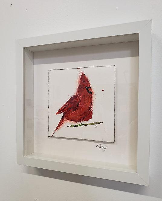 Cardinal 19 (framed)
