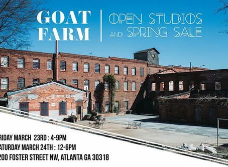 Open Studio - March 23 & 24