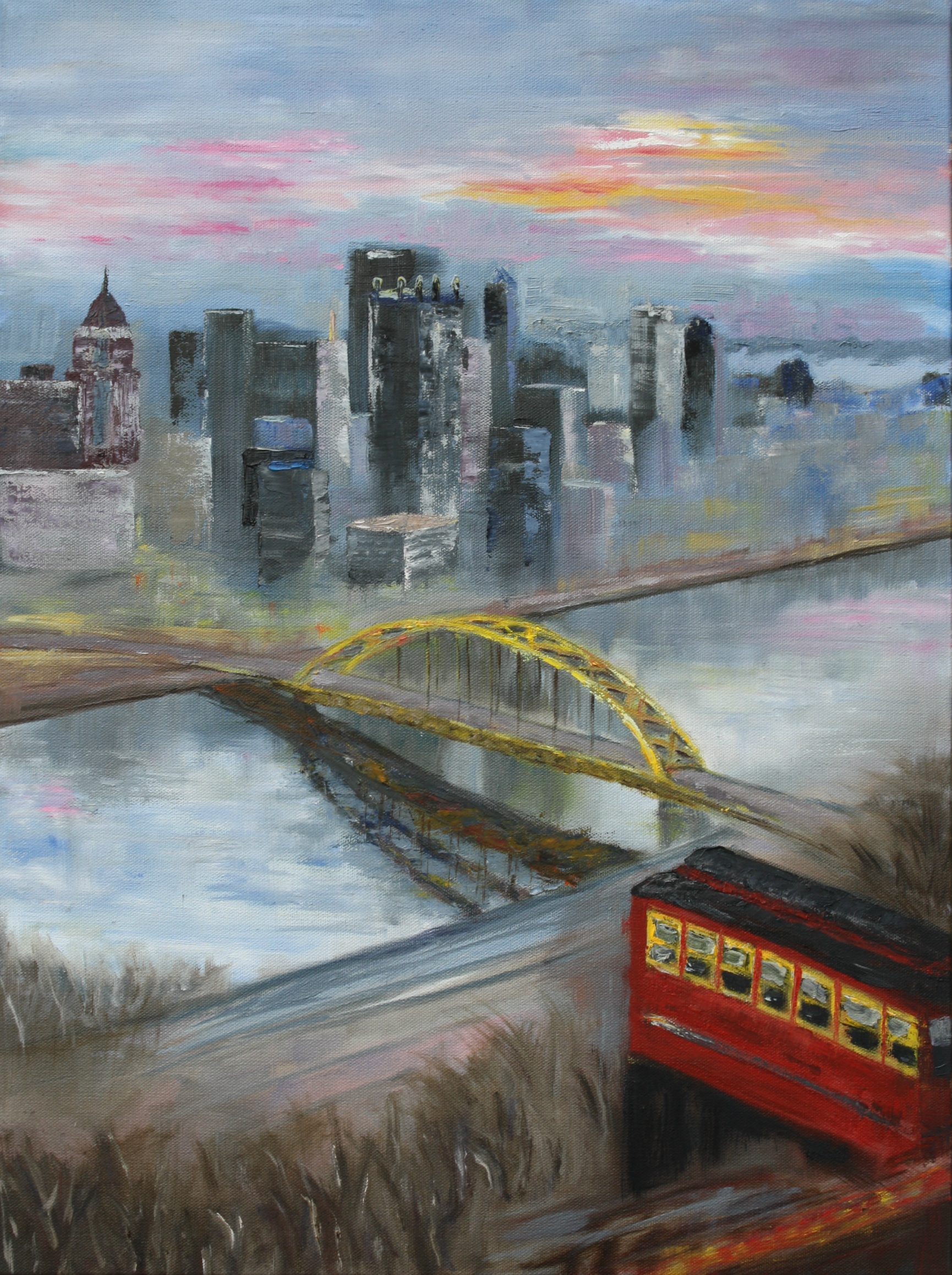 Sunrise in Pittsburgh 2