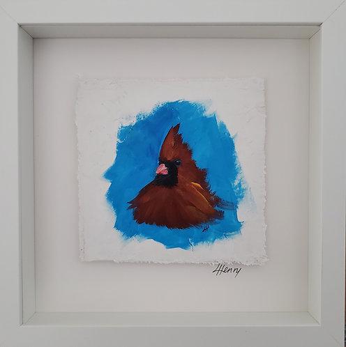 Cardinal 26 (framed)