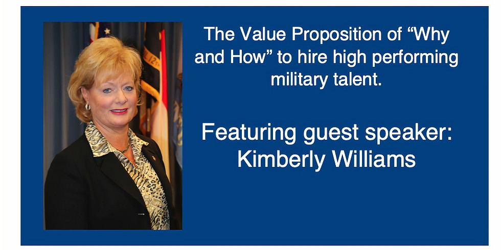 """The Value Proposition of """"why and how"""" to hire high performing military talent."""