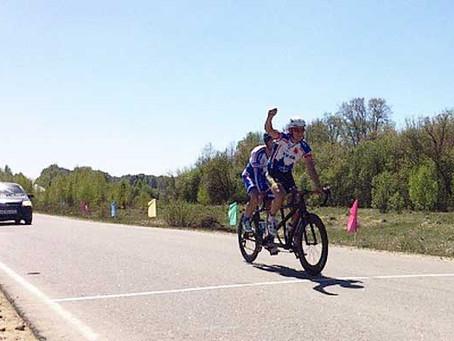 Туляки стали лучшими на чемпионате России по спорту слепых – велоспорте-тандем-шоссе