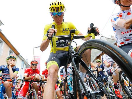 Тур де Франс. Кристофер Фрум увеличил отрыв от преследователей