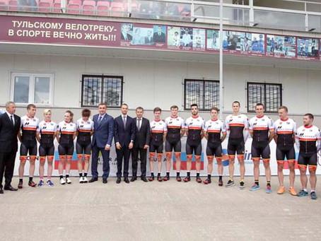 Презентация нового велосипедного клуба «MARATHON-TULA Cycling team»