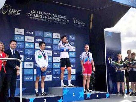 Ольга Забелинская — бронзовый призер чемпионата Европы