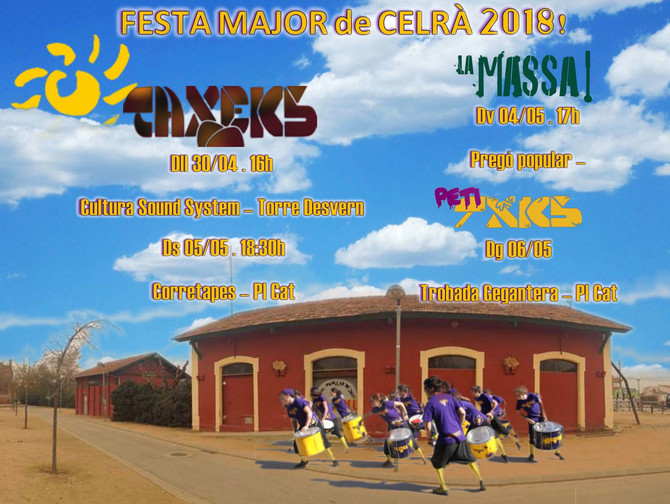 FESTA MAJOR de CELRÀ 2018