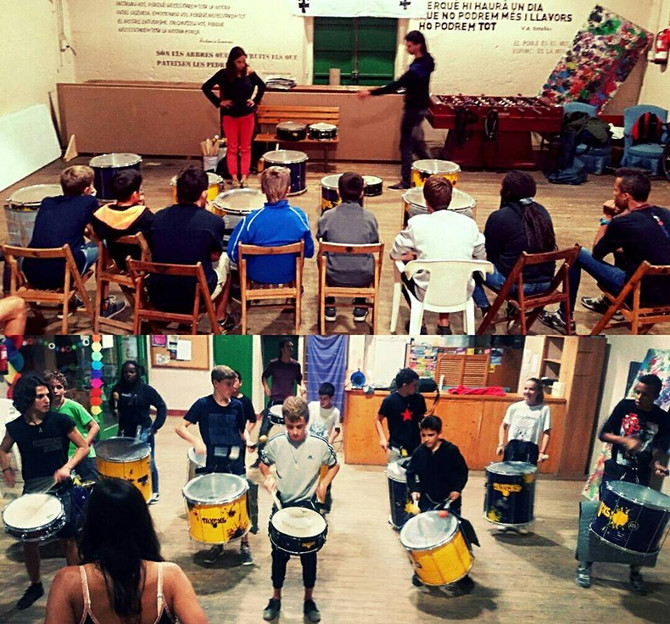"""Comença el nou taller de percussió """"JOVES""""!"""
