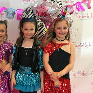 Glitter Diva Kids Birthday Parties, Sprinkles Kids Spa