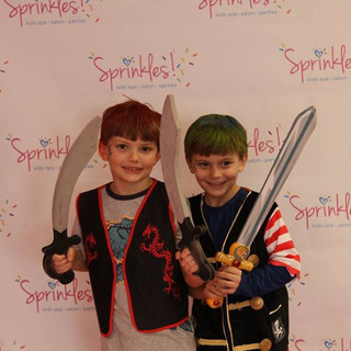 Boys Love Sprinkles Kids Spa Too!