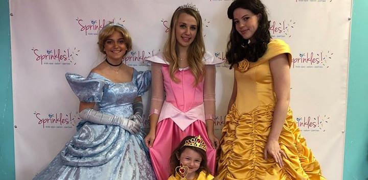 Princess Special Events at Sprinkles Kids