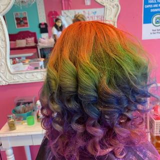 Unicorn Rainbow Color Hair for Kids