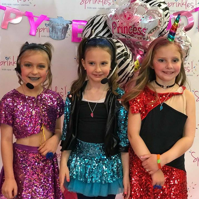 Glitter and Glam Pop Star Party