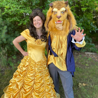 Beauty and The Beast Party Appearance