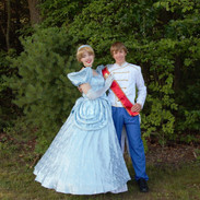 Glass Slipper Princess and Prince