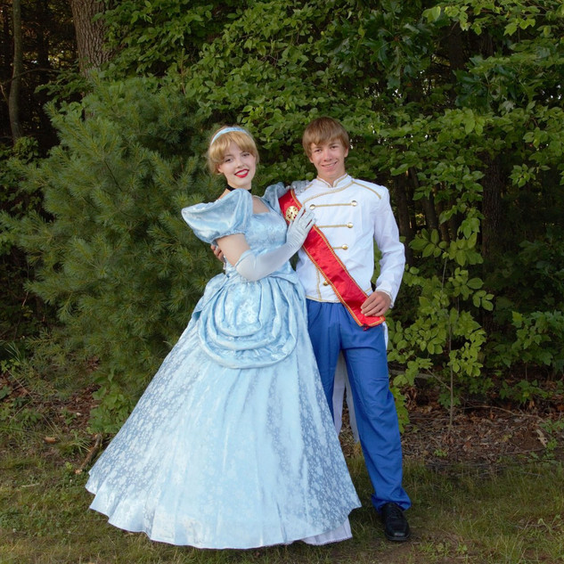 Glass Slipper Princess and Prince
