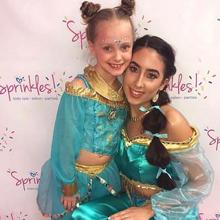 Jasmine Princess at Sprinkles Kids