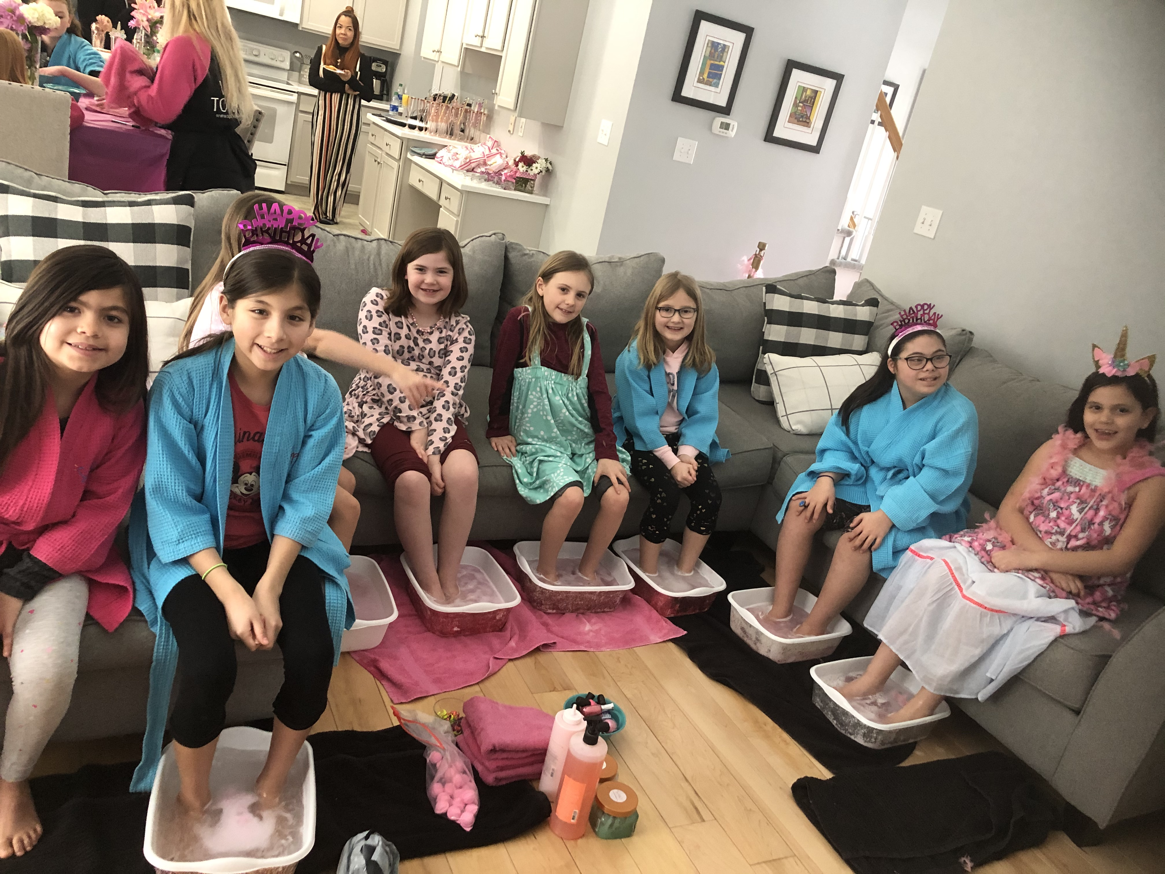 MOBILE KID SPA PARTY