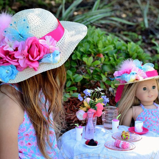 Tea Party with Dolls