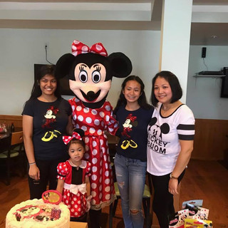 Minnie Mouse Party Appearance