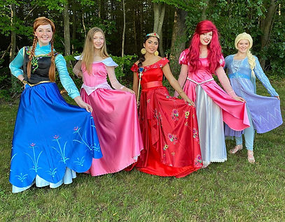 Princess Party - Character Appearances