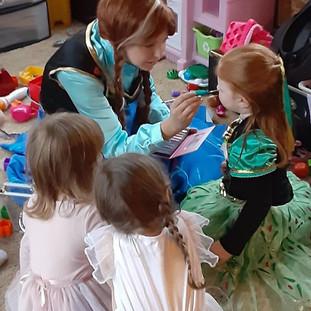 Princess Anna Character Visit