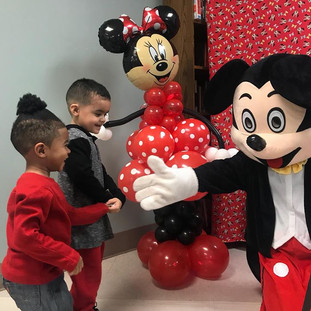 Mickey Character Party