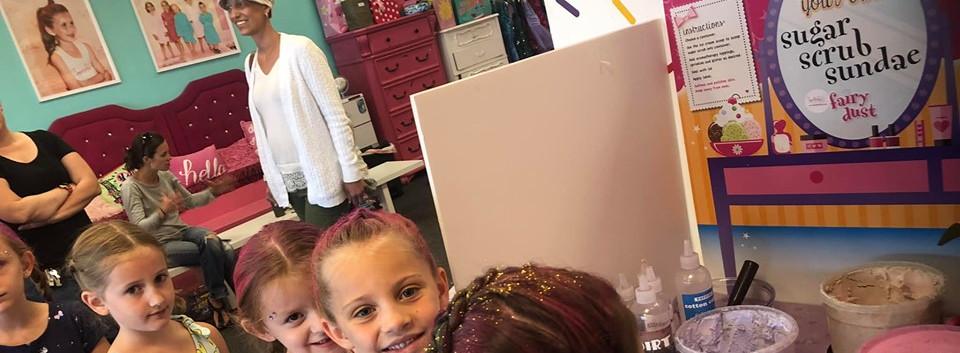 Suagr Scrub at Sprinkles Kids in Clifton Park, NY!