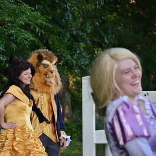 Princess Fun at a Party