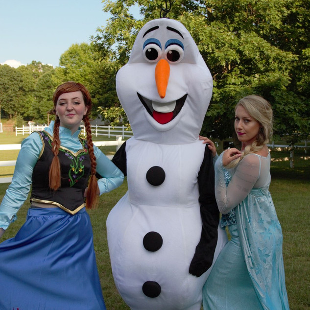 Snow Sister with Snowman
