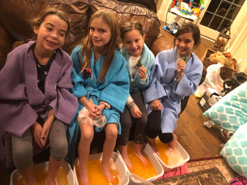 MOBILE KID SPA PARTIES - SPRINKLES K