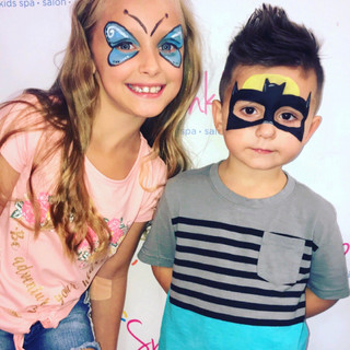 Face Painting Spa Parties