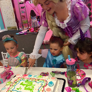 Princess Girls Birthday Parties at Sprinkles Kids Spa