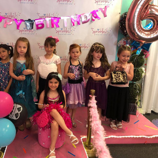 Girl Kid Birthday Party at Sprinkles Kids Spa!