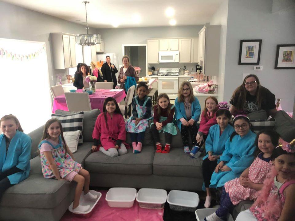 Sprinkles Kids Spa Mobile Parties