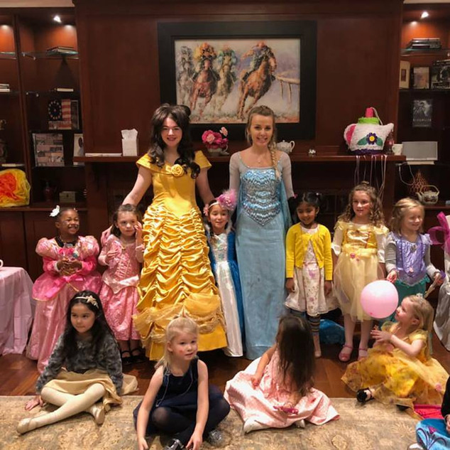 Princess Parties with Characters