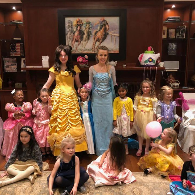 Invite a Princess to Your Party!