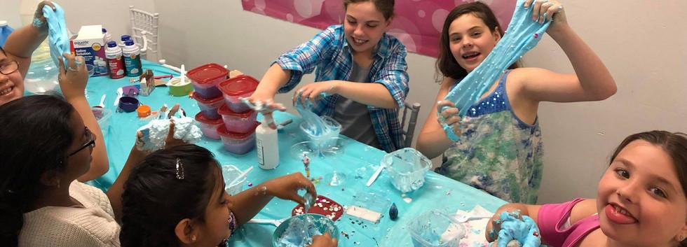 Slime Parties at Sprinkles Kids!