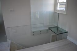 Glass handrail Clapham