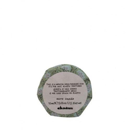 Medium Hold Finishing Gum  Pour un aspect mat et un maintien élastique