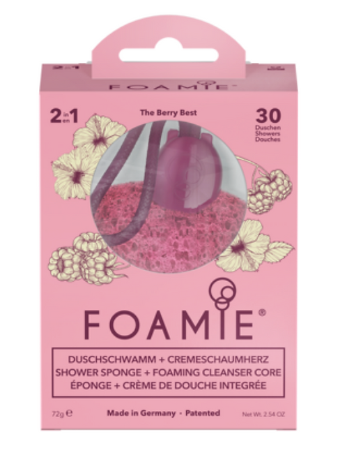 Foamie Éponge De Douche Foamie The Berry Best