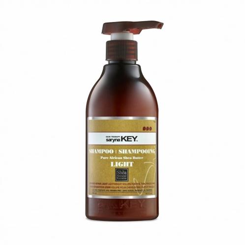 Shampooing light au karité pour cheveux secs et fins - Damage Repair