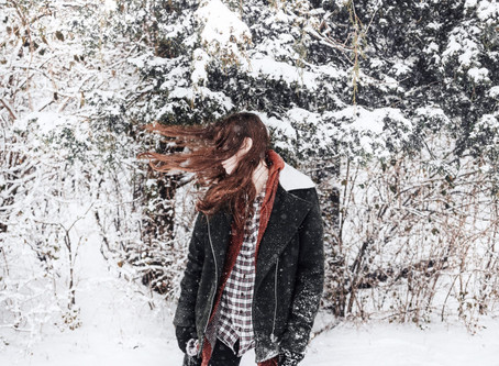 Mon Cheveu et l'hiver.