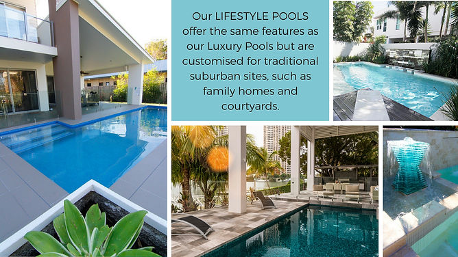 Gold Coast pool design and builder