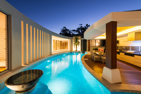 We work with some of the nation's leading architects to design and construct showstopping pools and water features.