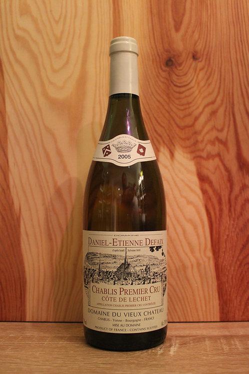 """Chablis 1er Cru """"Côtes de Léchet"""", 2005, Domaine du Vieux Château"""