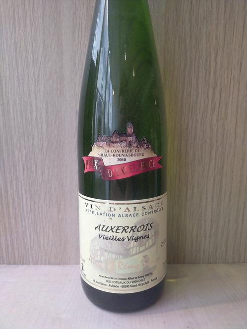 """Alsace Auxerrois """"Vieilles Vignes"""", 2016, Domaine Aline et Remy Simon"""