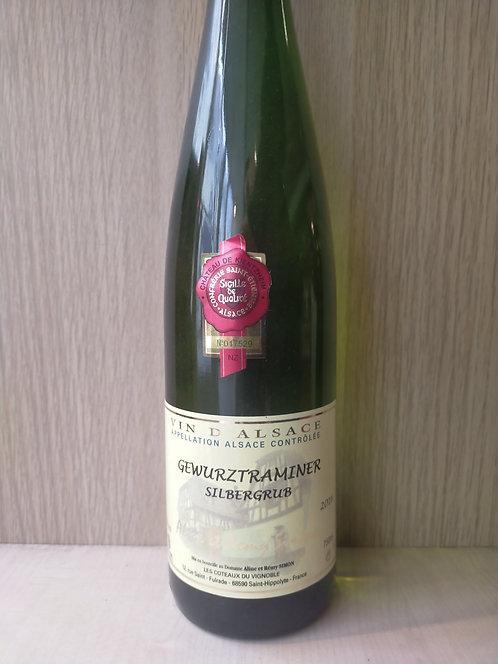 "Alsace Gewurstraminer ""Silbergrub"", 2016, Aline et Remy Simon"